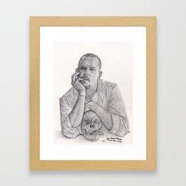 Alexander McQueen Savage Beauty Drawing Framed Art Print