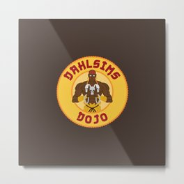 Dhalsim's Dojo Metal Print