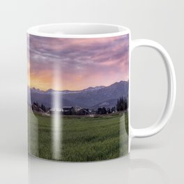 Mountain Sunrise - Teton Valley, Idaho Coffee Mug