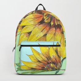 Giant Sunflower Backpack