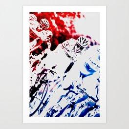 Riding Art Print