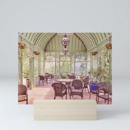 Shady Garden Solarium / Conservatory Mini Art Print