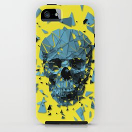 Exploded skull color iPhone Case