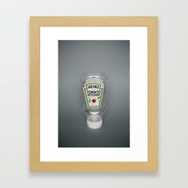All gone Framed Art Print