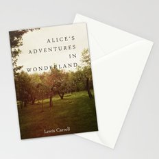 Alice's Adventures In Wonderland Stationery Cards