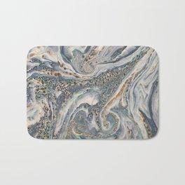 Aqueous Marbled Agate Bath Mat