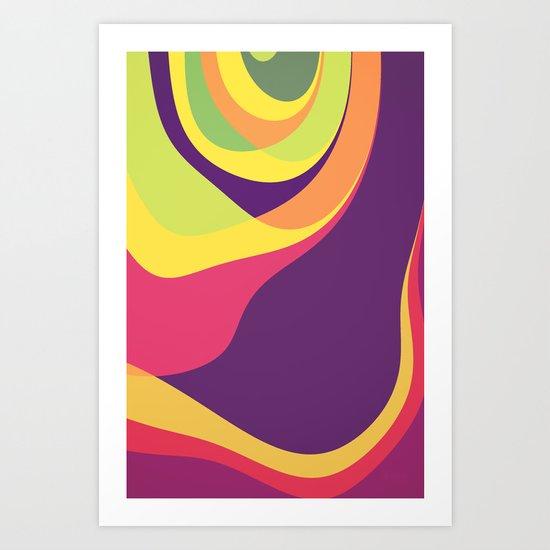 Cosmic Laugther Art Print