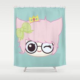 SUCHPLUSHSEWWOW CHIBI #1 Shower Curtain