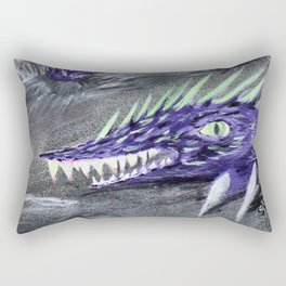 Tremor - Desert Sand Serpent  Rectangular Pillow