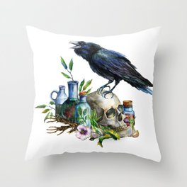 Alchemical #1 Throw Pillow