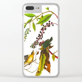 Worm-eating Warbler Bird Clear iPhone Case