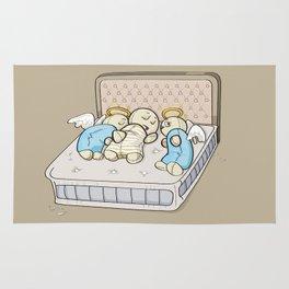 Sleep with angels Rug