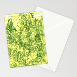 San Francisco! (Yellow) Stationery Cards