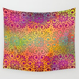 DP050-5 Colorful Moroccan pattern Wall Tapestry