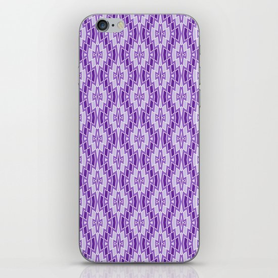 Diamond Pattern in Purple and Lavender by fischerfinearts