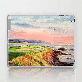 Pebble Beach Golf Course 7th Hole Laptop & iPad Skin
