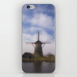 Kinderdijk Windmill III iPhone Skin