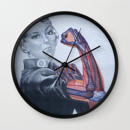 Rosie's Arm Anatomy Wall Clock