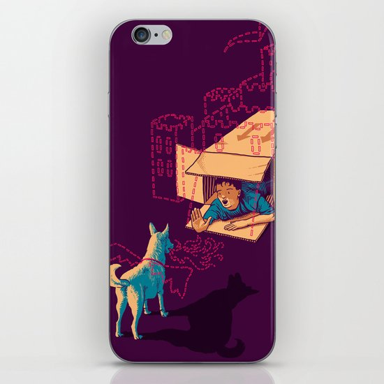 Halt! Who Goes There? iPhone & iPod Skin