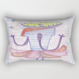 Selfportrait Rectangular Pillow