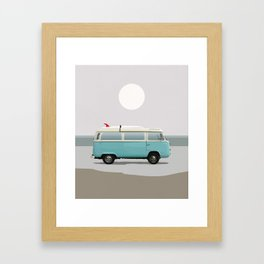Road Trip 2 Framed Art Print