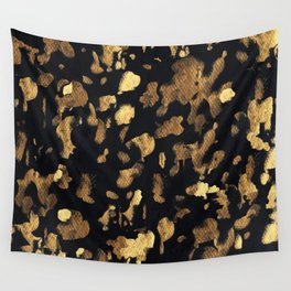 Gold rushing Wall Tapestry