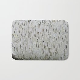 Birch Bark on a Fallen Tree Bath Mat