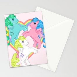 g1 my little pony pegasus Stationery Cards