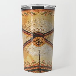 Gold On The Ceiling Travel Mug