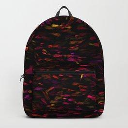 Glowing Jewel Paint Flecks Backpack