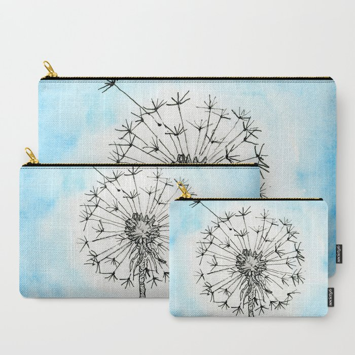 Dandelion Waiting for a Breeze Carry-All Pouch