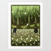 Pixel Art series 11 : THE BOSS Art Print