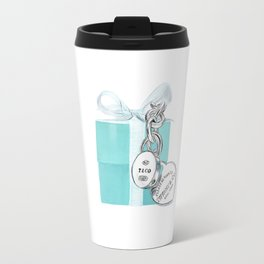 Blue Jewelry Box Travel Mug