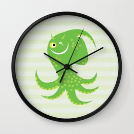 Squid of Reassurance Wall Clock