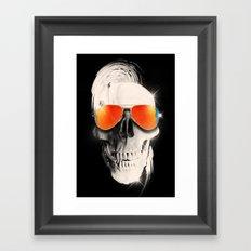 Summer Skull Framed Art Print