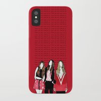 haim iPhone & iPod Cases featuring Never look, back never give up by Marconte