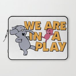 The Elephant and piggie Laptop Sleeve