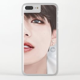 Duality - V Clear iPhone Case