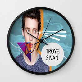 Troye Sivan Wall Clock