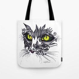 Intense Cat Tote Bag
