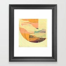 (sky)land Framed Art Print