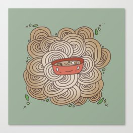 Noodle Doodle #3 Canvas Print