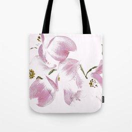 Dogwood Tree Flowers-pink Tote Bag