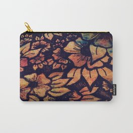 Rainbow Florals  Carry-All Pouch