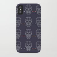 skulls iPhone & iPod Cases featuring Skulls by Hipster