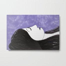 Violet Sleep Metal Print
