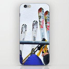Ski All Day iPhone Skin