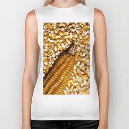 Yellow corn Biker Tank