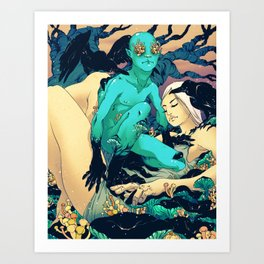 Sleep Paralysis Art Print