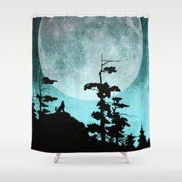 When Night Falls Shower Curtain